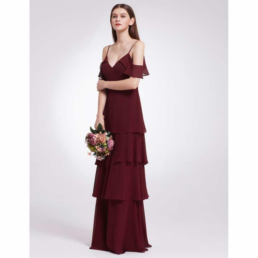 robe de demoiselle d 39 honneur bordeaux. Black Bedroom Furniture Sets. Home Design Ideas